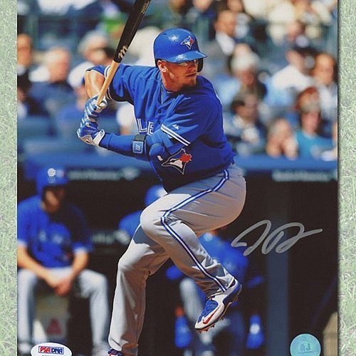 Josh Donaldson Toronto Blue Jays Signed Sunglasses Batting 8 x 10 Photograph-PSA/DNA - Autographed MLB Baseball - Blue Sunglasses Jays