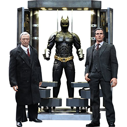 Download Batman The Dark Knight Movie Masterpiece Batman Armory With Bruce Wayne & Alfred Pennyworth 1:6 Collectible Figure Set (Hot Toys)
