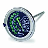 Product review for CDN IRM200-GLOW - ProAccurate Meat/Poultry Oven Thermometer-Extra Large Glow-in-the-Dark Dial-NSF Certified