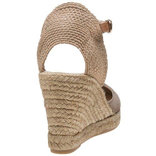 Sole Annie Femme Chaussures Taupe lLM88ymk7