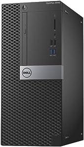 Dell Optiplex 3040 Mid Size Tower Computer PC (Intel Quad Core i5-6500, 8GB Ram, 256GB SSD, WiFi, HDMI, DVD-RW) Win 10 Pro (Certified Refurbished)