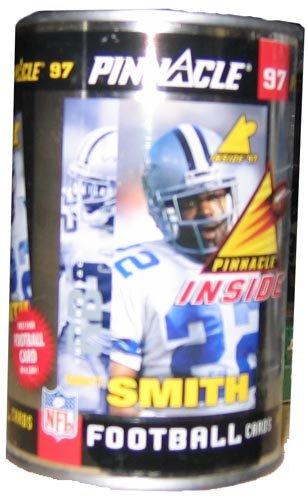 (1997 Pinnacle 'Inside' Football Cans LOOSE)