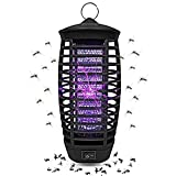 Wellgoo Electronic Bug Zapper, Mosquito Killer Lamp, Fly & Insects Trap for Indoor and Outdoor - 2019 Upgraded
