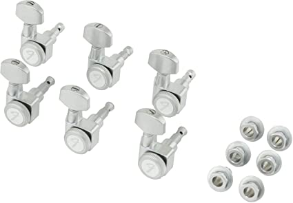 Fender Locking Tuners >> Fender Locking Guitar Tuners American Deluxe Strat Brushed Chrome Set Of 6