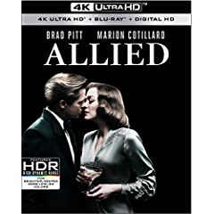 ALLIED debuts on 4K Ultra HD and Blu-ray February 28th and on Digital HD February 14th from Paramount