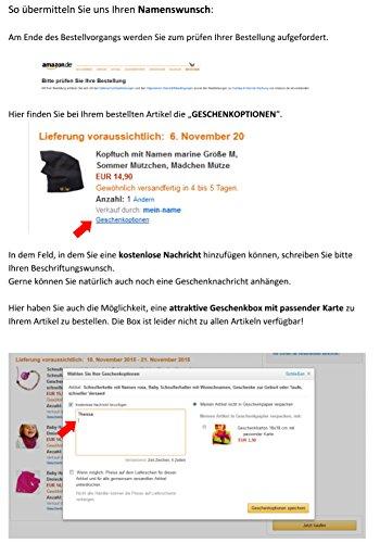 Sport Beutel Kind mit Name - Türkis - 40x35 cm groß - Baumwolle in verschiedenen Farben - Sportbeutel , Schuhbeutel, Beuteltasche für Mädchen Junge, Sport, Reisen, Schule, Turnbeutel Kinder