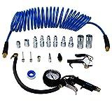 "YOTOO Heavy Duty Air Compressor Accessory Kit 18-Piece, 1/4""NPT Air Tool Kit"