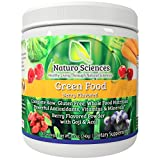 organic all day energy greens - Greens Powder Complete Raw Whole Green Food Nutrition Plus Spirulina, Super Antioxidants, Vitamins, Minerals Amazing Berry Flavor 8.5oz (240g) 30 Servings