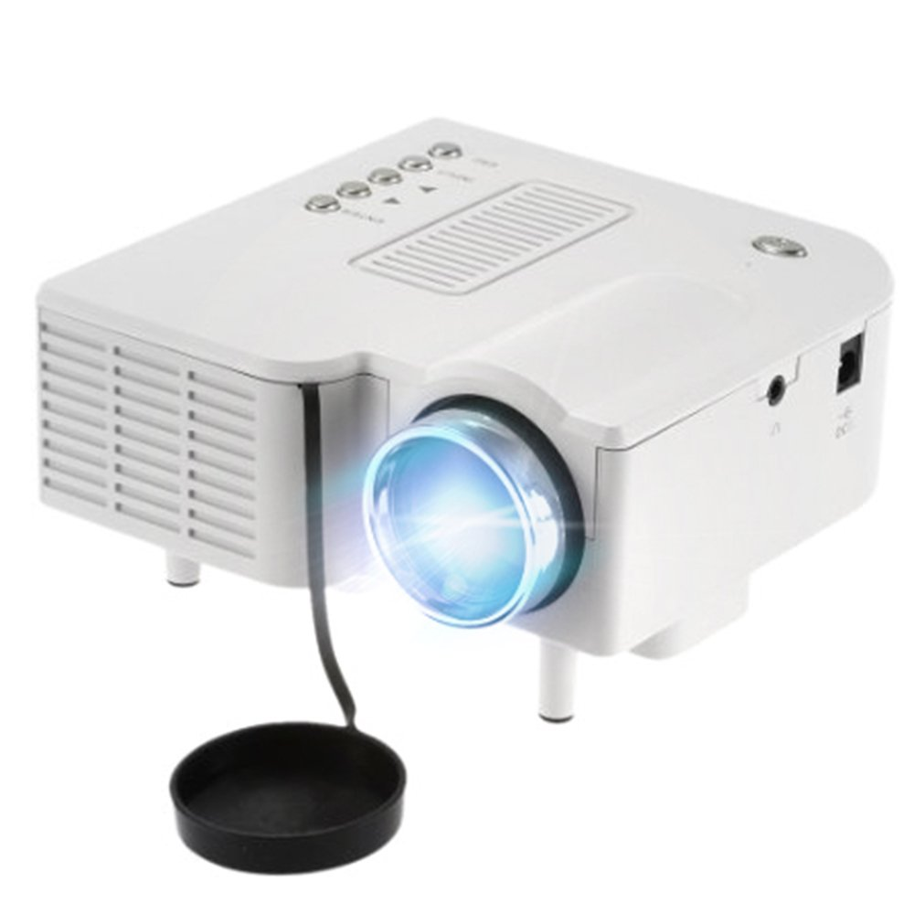 OEM B1 LED LCD (QVGA) Mini Video Projector - US Version (Includes Warranty) - White (FP3224B1W)