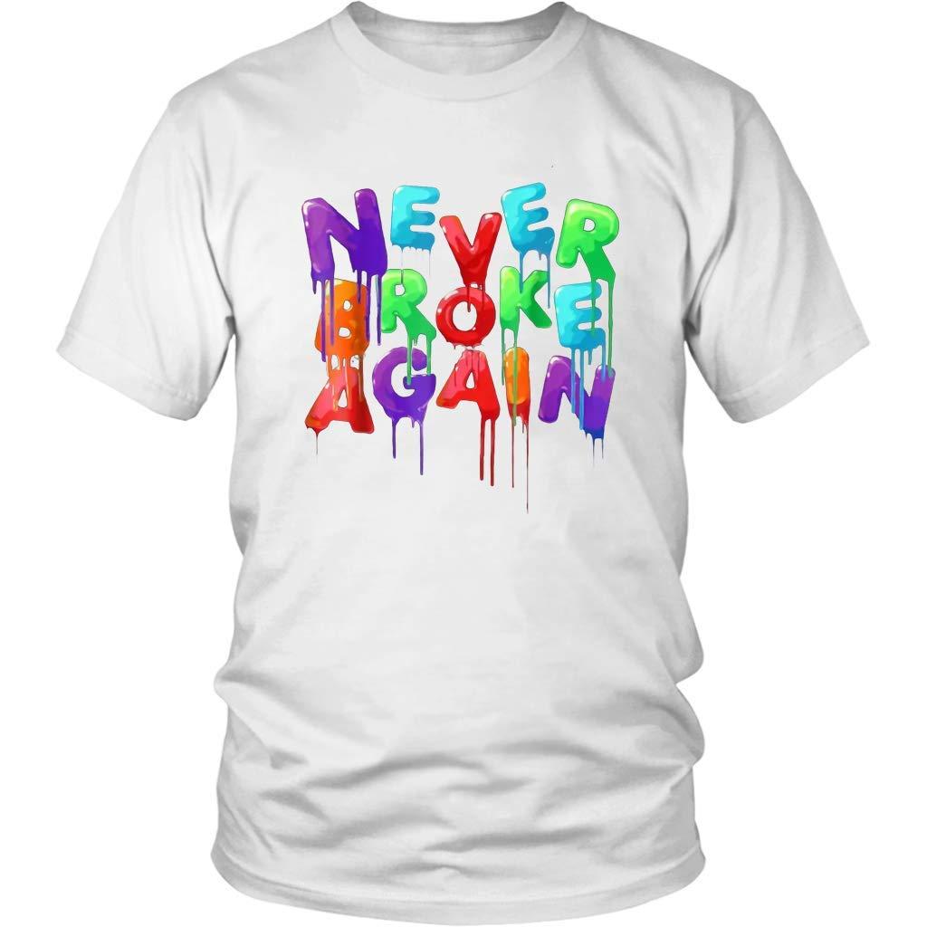 Winsle Boy Never Broke Again S Stylish Tshirt Personalized Leisure Short Sleeve Tee Black