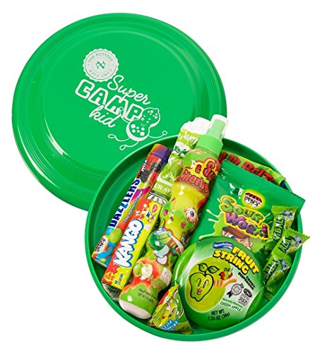 The Nuttery Frisbee Flyer and Sweet Candies Perfect