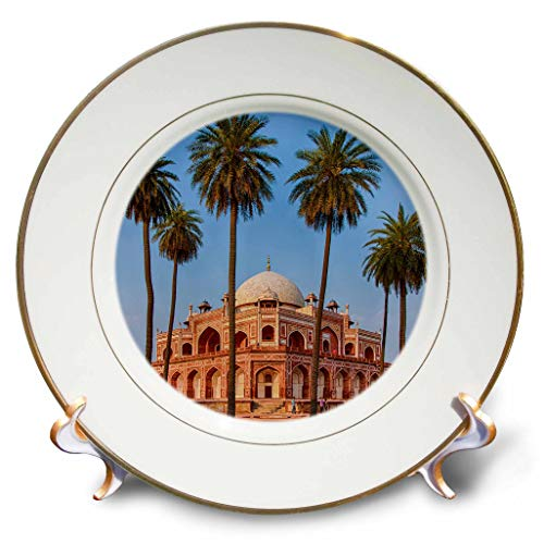 3dRose Danita Delimont - India - India. Exterior View of Humayuns Tomb in New Delhi. - 8 inch Porcelain Plate (cp_312713_1)