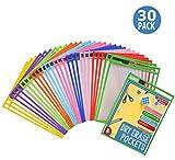 Dry Erase Pockets 30 Pack