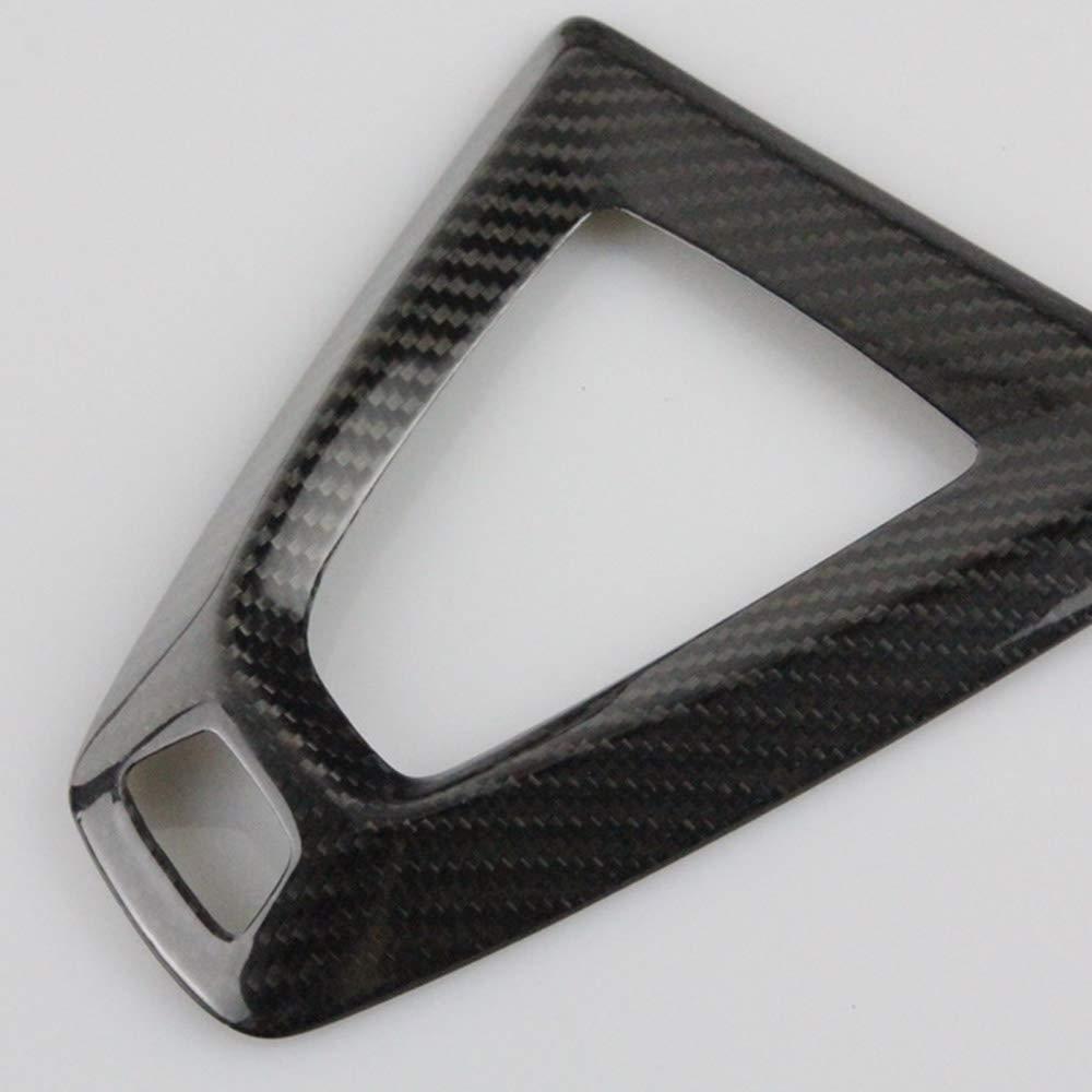 NULLA Center Console Gear Shift Knob Plate Cover for BMW M3 F80 M4 F82 F83 Carbon Fiber Sticker Parts Accessories