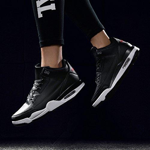 Abby 50505 Mens Eleganti Scarpe Sportive Comode Sneakers Traspiranti Atletiche Nere
