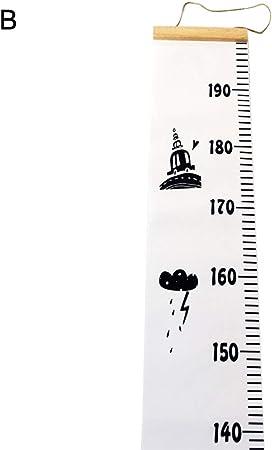 Children Kids Growth Chart Height Ruler Wall Sticker Wall Decal Height Measurement Sticker Decorative Gift