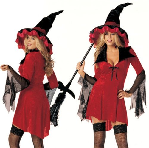Sexy Plus Size Witchy Woman Costume - (Witchy Woman Costumes)