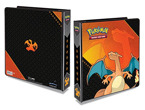 Ultra-Pro Pokemon Charizard 3-Ring Binder with 25 Platinum 9-Pocket Pages