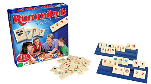 building toys for girls Rummikub -- The Original Rummy Tile Game