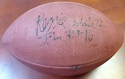 Reggie White Autographed NFL Leather Football Green Bay Packers PSA/DNA #U03377