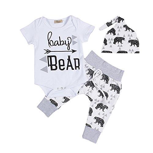 Newborn Summer Sleeve Romper Outfits