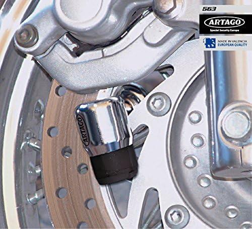 Artago 563C//B Antirrobo Disco Moto Eje 14mm