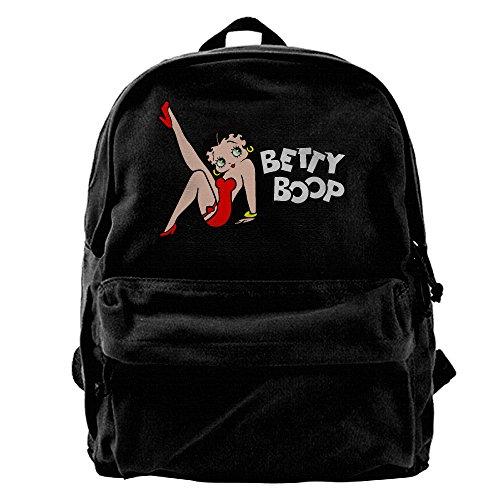 Rihvona America Famous Betty Boop Canvas (Betty Boop Costumes Garter)