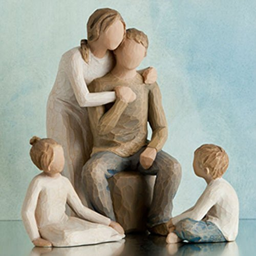 Willow Tree Parents with 2 Children Gift Set by Willow Tree