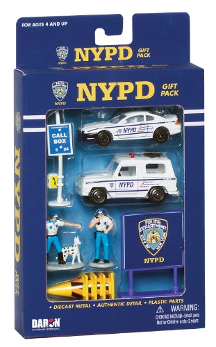 Daron NYPD Gift Pack, - New For Kids Souvenirs York