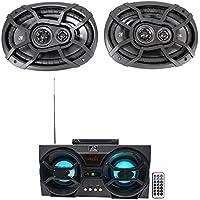 (2) KICKER 43CSC6934 6x9 900w 3-Way Car Audio Speakers CSC693 + Free Speaker !