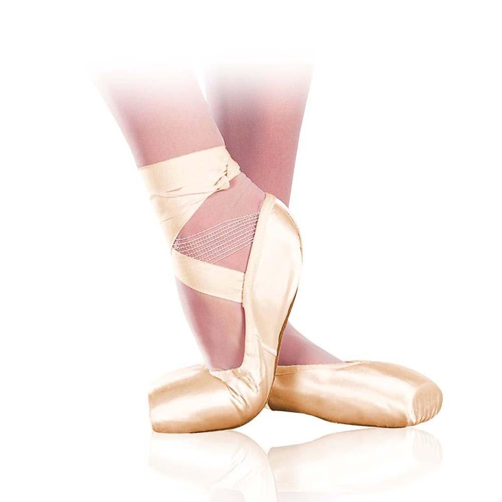 Sansha Adult Peach Pink American Soft-Toe Ballet Shoes Wide Womens 11