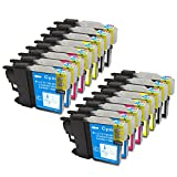 16 Pack - Compatible Ink Cartridges