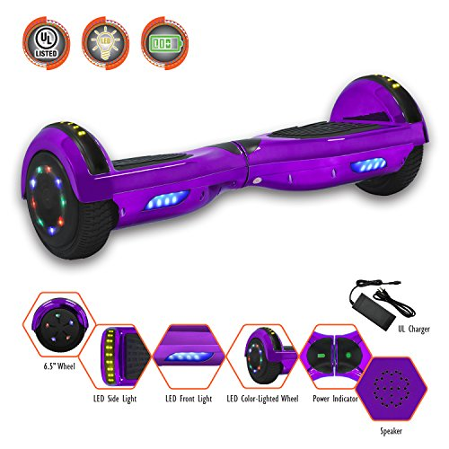 Smart Balance 6.5″ Hoverboard with Bluetooth – UL 2272 – UN 38.3 Safety Certified Personal TRANSPORTATON