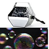 GBL® Large Bubble Blower Machine Portable Blowing Maker DJ Disco Party Club Xmas Outdoor/Indoor Weddings Cinema Party Fun