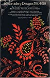 img - for Embroidery Designs 1780-1820 book / textbook / text book