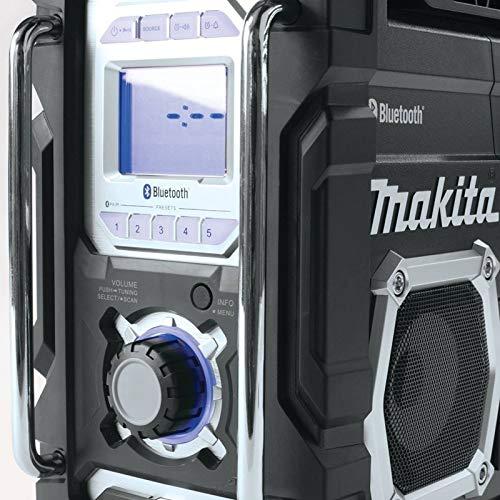Makita XRM04B-R 18V LXT Cordless Lithium-Ion Bluetooth FM/AM Job Site Radio (Bare Tool) (Renewed) by Makita (Image #3)