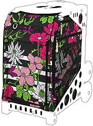 ZUCA Petals and Stripes Floral Sport Insert Bag (Frames Sold Separately) #1777