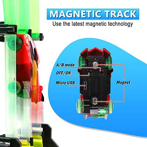 REMOKING Rail Race RC Track Car Toys 860cm Build Your Own 3D