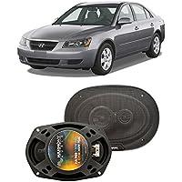 Fits Hyundai Sonata 2006-2008 Rear Deck Factory Replacement Harmony HA-R69 Speakers New