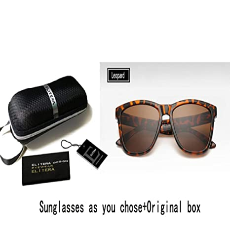 Yangjing-hl Gafas de Sol polarizadas Famosa Dama Diseñador ...