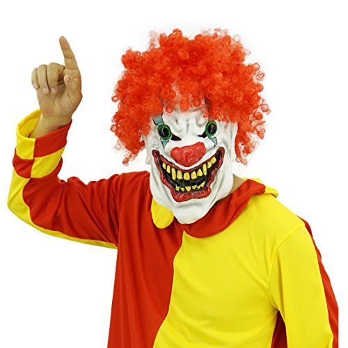 Hongzhi Craft Various Funny Clown Latex Mask and