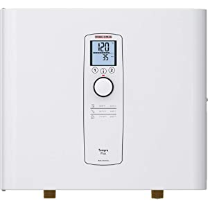 Stiebel Eltron Tankless Water Heater – Tempra 12 Plus – Electric, On Demand Hot Water, Eco, White