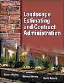 Landscape Estimating and Contract Administration: Stephen Angley ...