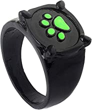 Ladybug Ring Cat Noir Rings Anime Cosplay Finger Ring,Cat Noir Ring for Kids,Lovely Ladybug Cat Cartoon Noir G