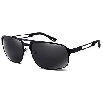 a4e7992302 Amcer Gafas de Sol polarizadas para Hombres, 100% de protección UV, Lentes a
