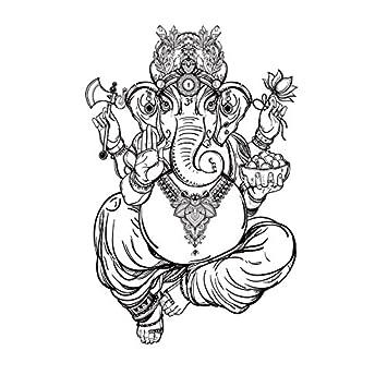 Amazon.com: ZOZOSO Wall Sticker Ganesh Idol Ganesha Wall ...