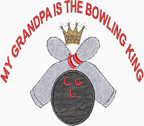 - BOWLING GRANDPA TOWEL W/ GROMMET & SPRING CLIP