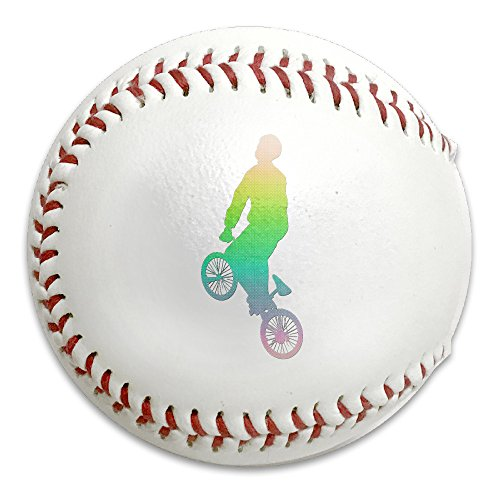 Rainbow Extreme Sport Mountain Biking Size 9 Safety Soft Baseballs Bullet Ball Training Ball White by OYten