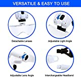 Headband Magnifier LED Illuminated Head Magnifying