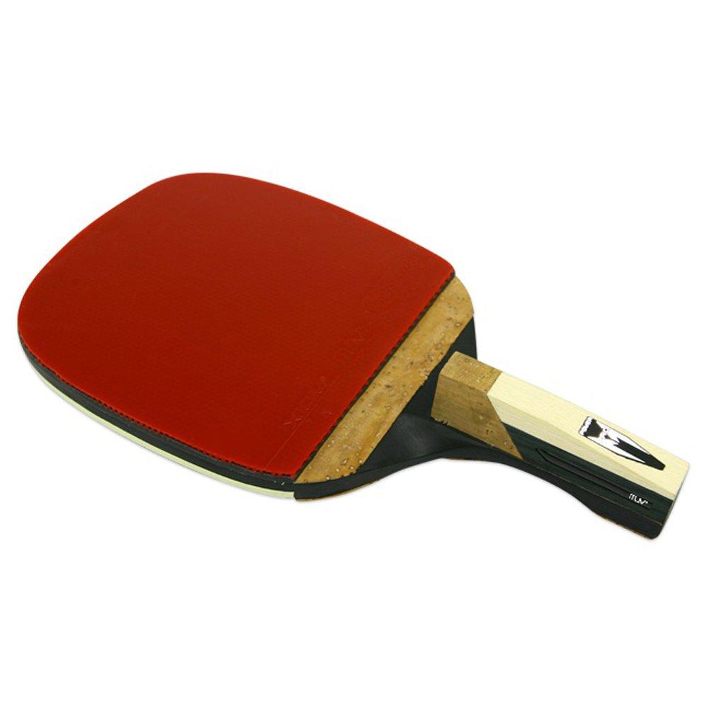 Champion XIOM M8.0P Ping Pong Racket Table Tennis Penholder Type for Professional + Key Ring